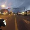 Hauptstrasse im Morgengrauen
