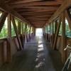 Holzbrücke über die Ergolz bei Augst
