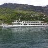 Motorschiff Wäldstätter kreuzt die Dampfparade