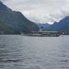 Dampfschiff Uri vor Bergkulisse