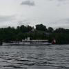Dampfschiff Gallia auf Parallelfahrt