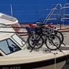 Räder auf dem Schiff