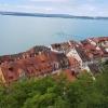 Meersburg und Bodensee, gesehen aus dem Schloss