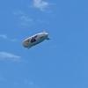 Immer wieder der Zeppelin über unseren Köpfen