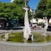 Brunnen an der Uferpromenade in Überlingen