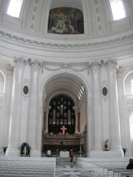 Innenansicht des Doms von St. Blasien (Schwarzwald)