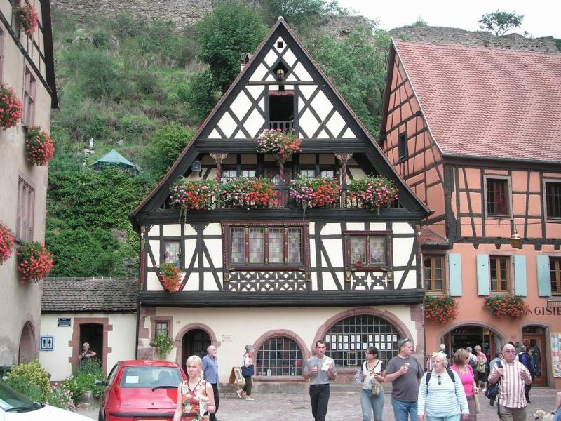 Riegelhaus / Fachwerkhaus in Kaysersberg