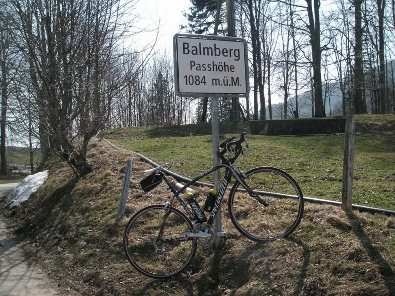 Balmberg Passhöhe