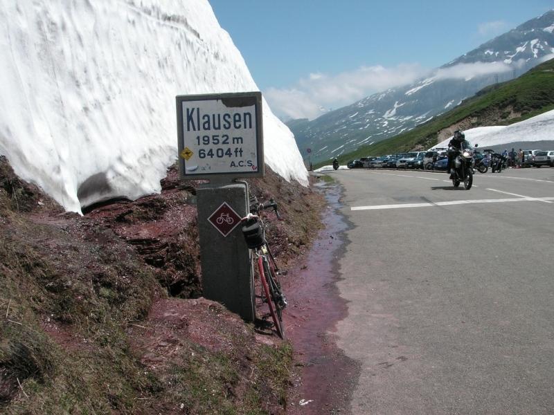 Passhöhe Klausenpass
