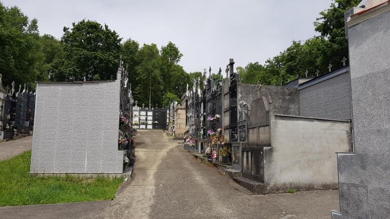 Friedhof in Galicien
