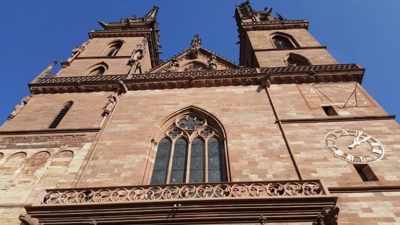 Sandsteine am Basler Münster