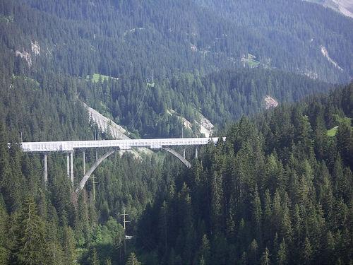 Viadukt von Langwies