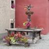 Brunnen in Pontresina