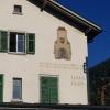 Bahnhofsgebäude in Ilanz
