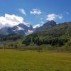Während der Fahrt auf die Bernina
