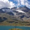Berninapasshöhe mit Lago Bianco
