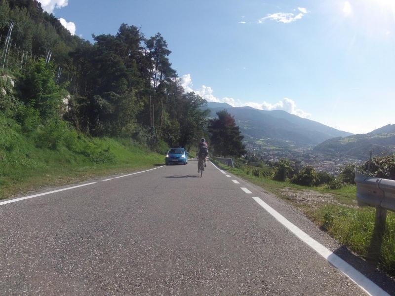 Abfahrt nach Brixen