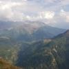 Blick zurück nach Südtirol, vom Timmelsjoch