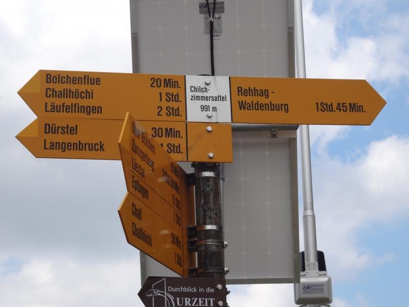 Chilchzimmersattel - Passhöhe