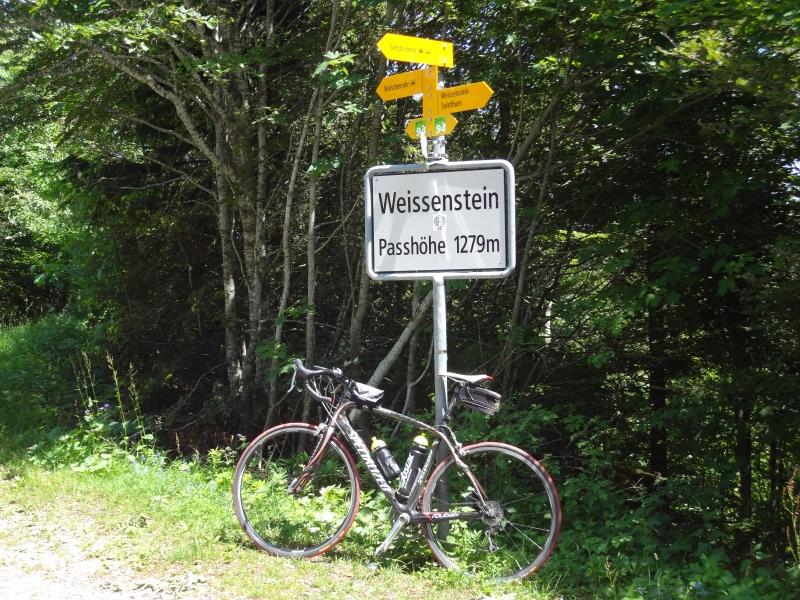 Weissenstein - Passhöhe