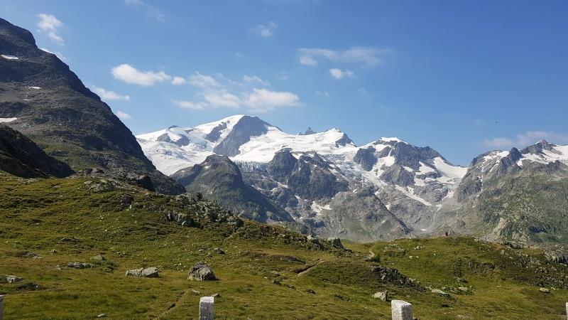 Ausblick auf der Sustenpasshöhe