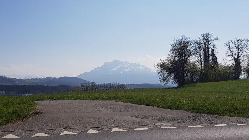 letzter Blick zu den Alpen