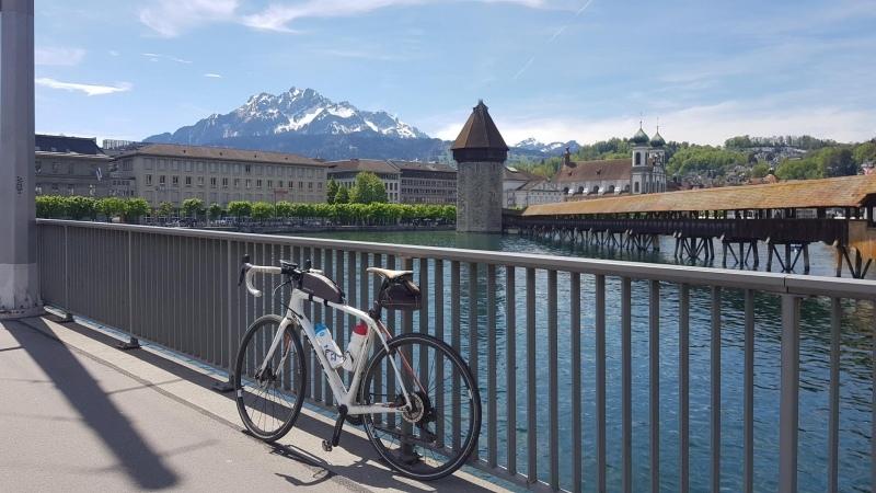 Luzern, Pilatus und Kapellbrücke