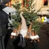 Wichtel am Weihnachtsmarkt in Einsiedeln