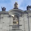 Engel auf dem Kloster von Einsiedeln