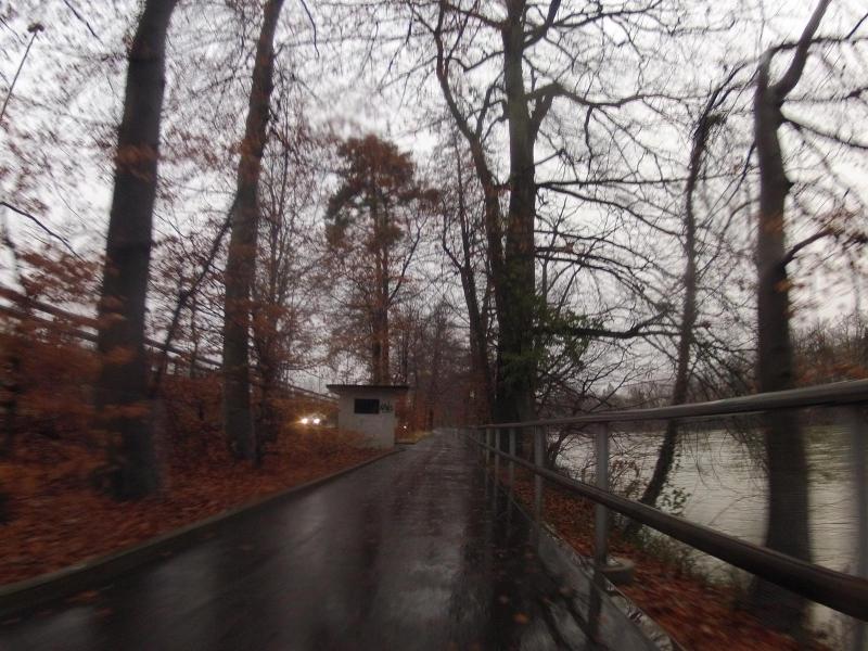 Radweg entlang der Aare bei Olten