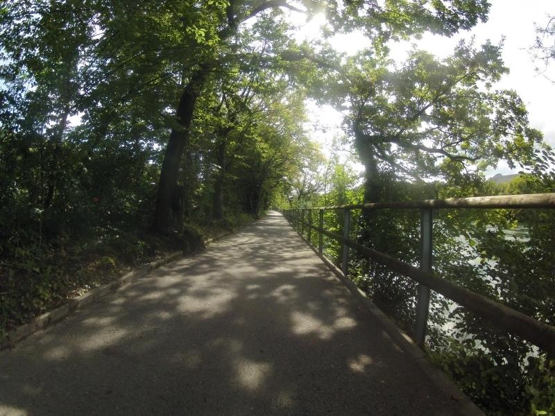 Radweg an der Aare bei Olten