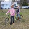 Der Osterhase kommt mit dem Fahrrad, Lostorf