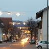 Weihnachtsbeleuchtung in Niedergösgen