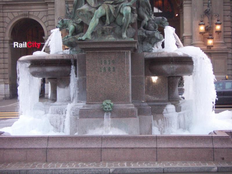 Alfred-Escher Brunnen