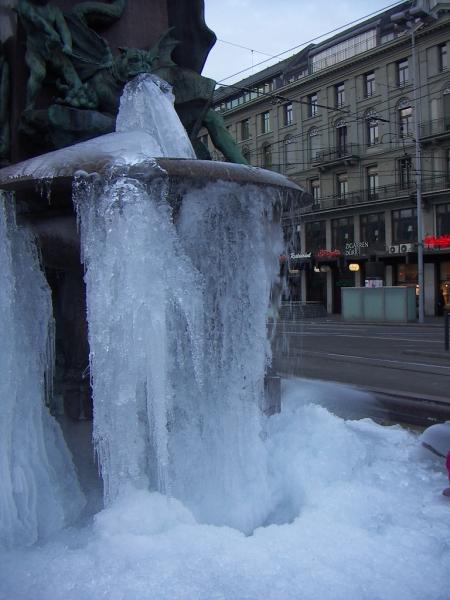 Alfred Escher Brunnen