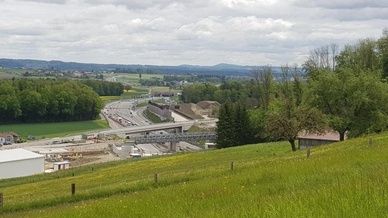 Einfahrt Gubristtunnel, Seite Furttal
