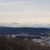 Alpenpanorama hinter dem Furttal