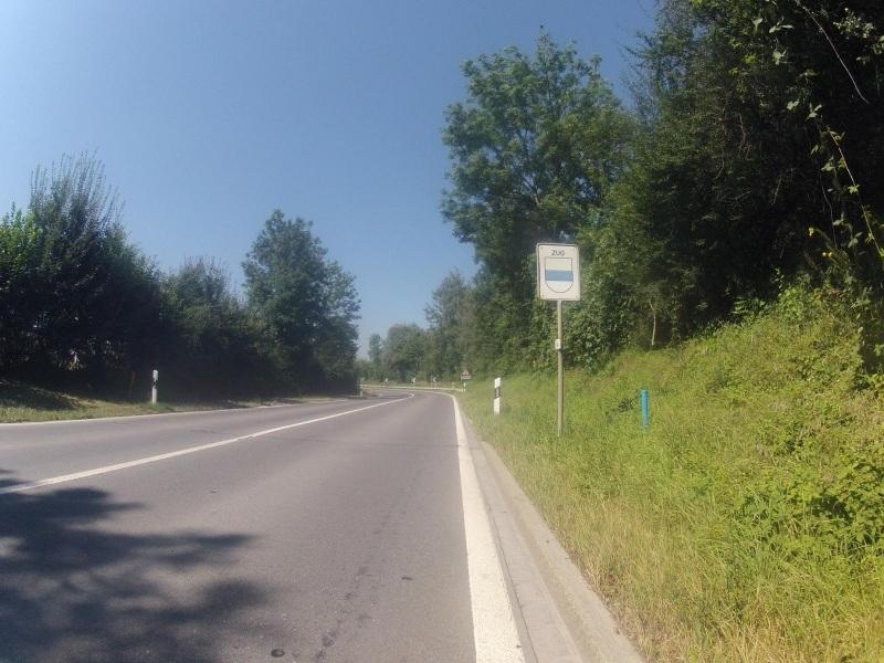 vom Kanton Zürich nach Zug