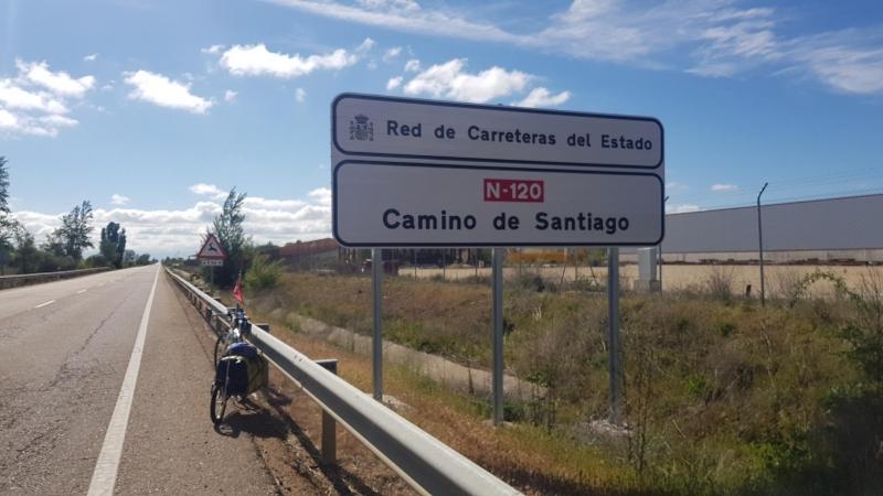 N-120 Camino de Santiago