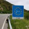 Grenzübertritt nach Frankreich