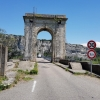 Brücke über die Rhone
