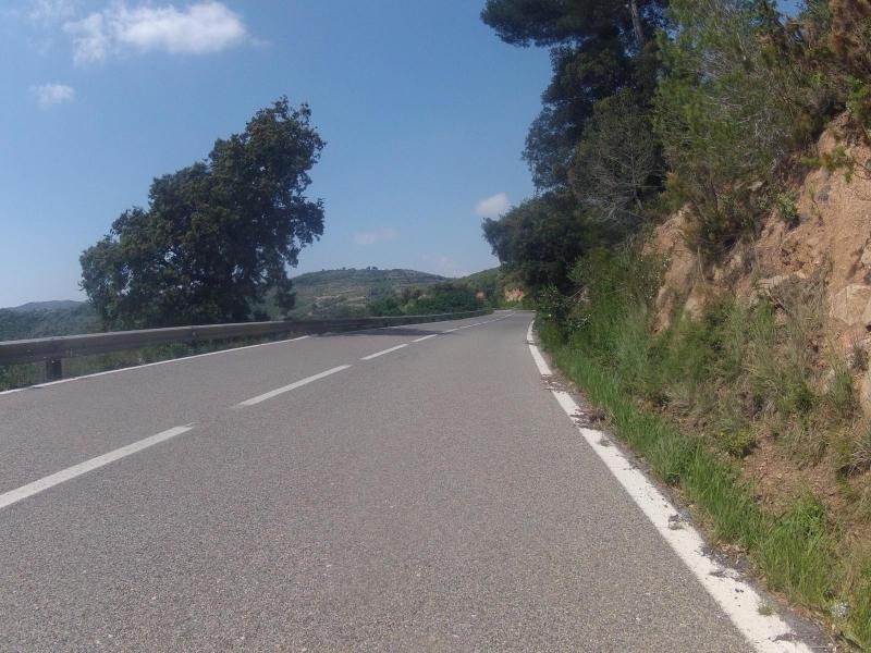 Bergauf nach l'Albiol