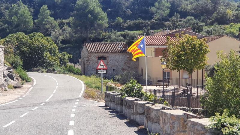 Katalonische Flagge