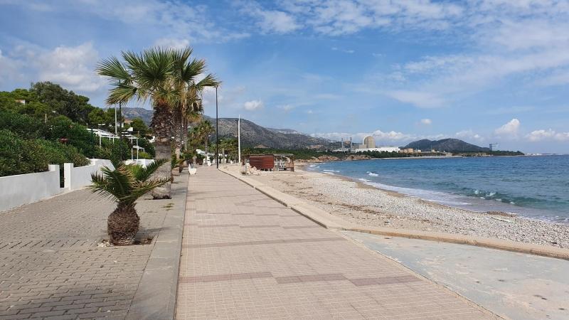 Am Strand von L'Almadrava