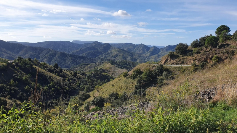 Blick vom Coll de Porrera