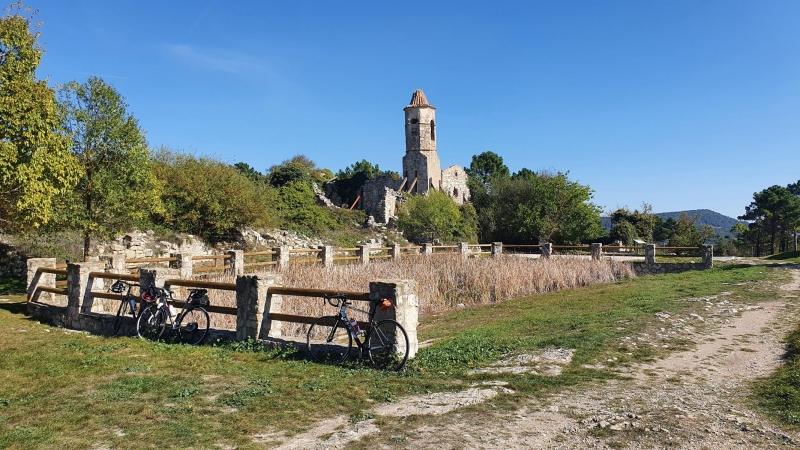 Die Klosterruine von La Mussara