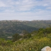 Bergkette hinter dem Aussichtspunkt