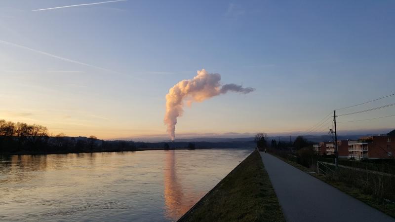 Dampffahne von Leibstadt