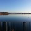 Blick über den Klingnauer Stausee