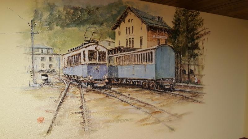 Bahnhof in Leukerbad
